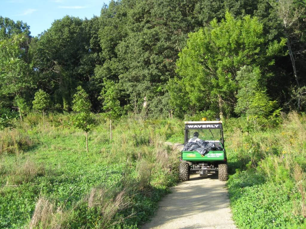 Fresh pond maintenance road wellnesscapes for Large pond maintenance