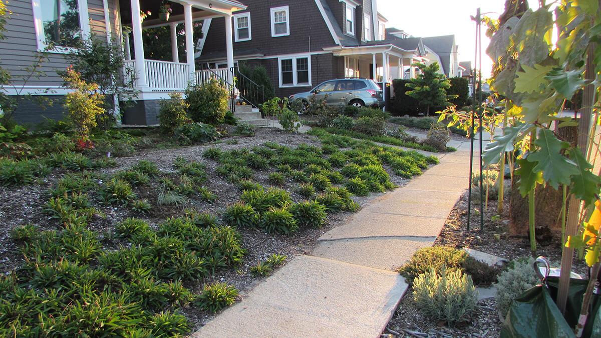 Landscape Design | Cranston, RI | Deep Energy Retrofit