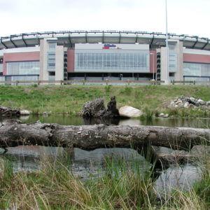 Landscape Design | Foxborough, MA | Gillette Stadium River Daylighting