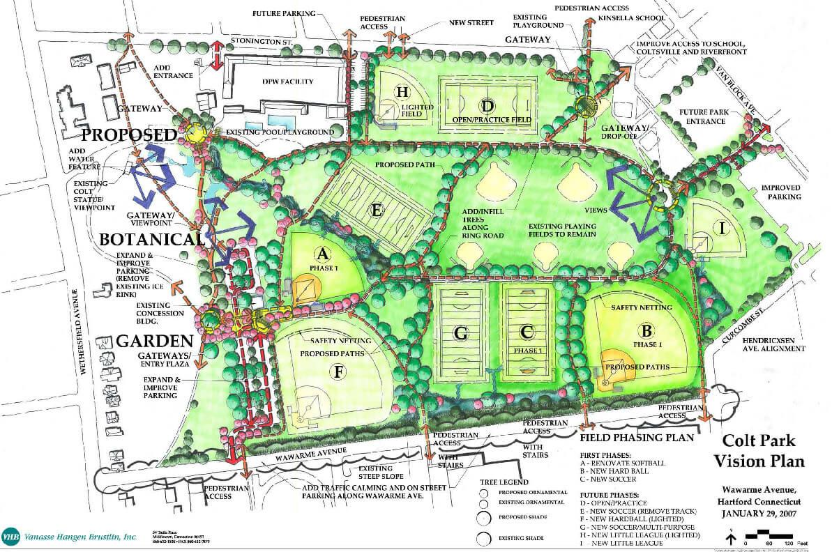 Landscape Design | Hartford, CT | Colt Park