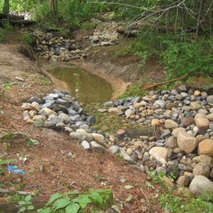 Landscape Design | Dover, NH | Stream Restoration