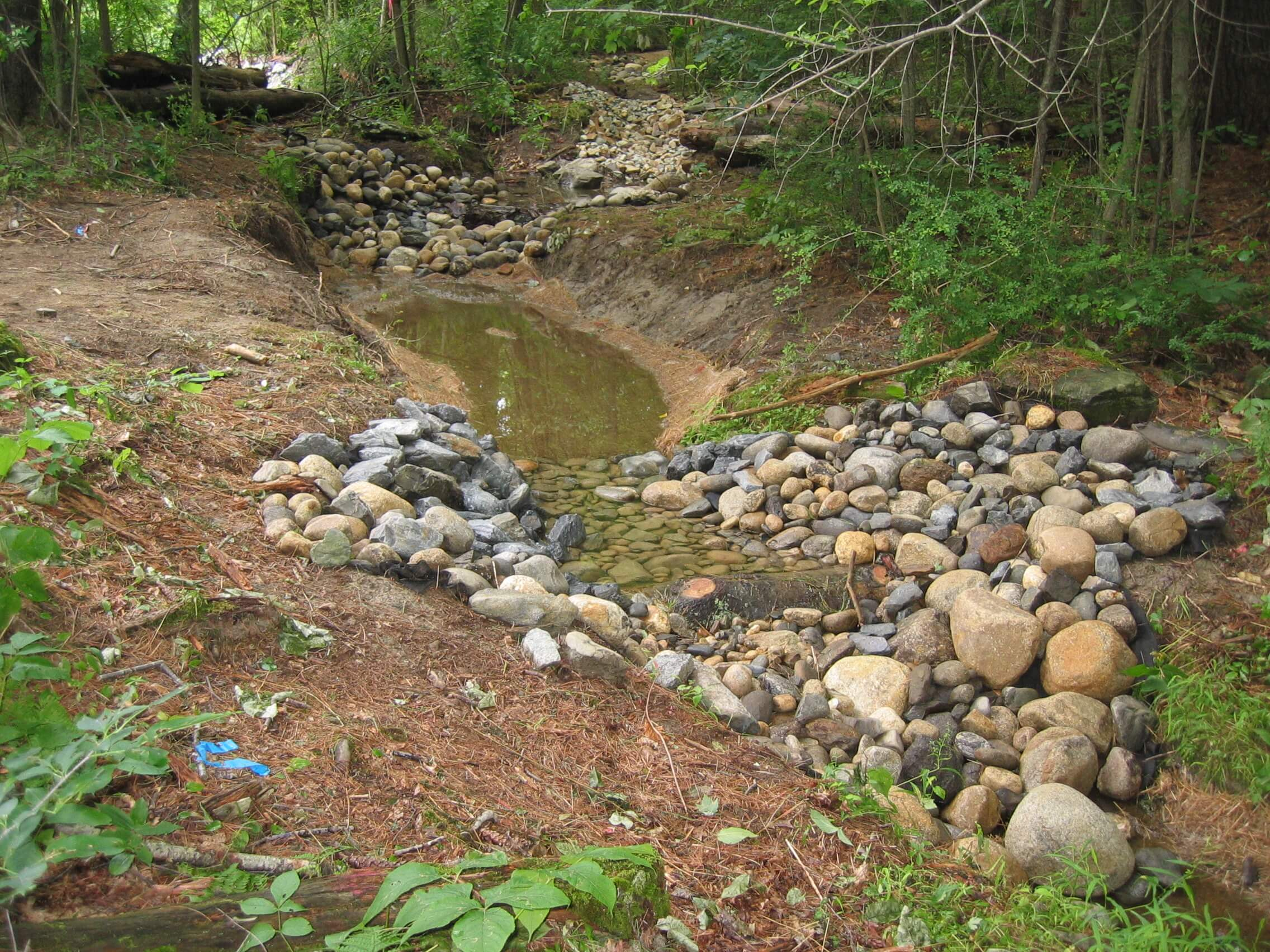 Landscape Design | Dover, NH | Stream Restoration