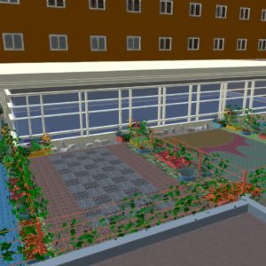 Landscape Design | Northampton, MA | Cooley Dickinson Hospital Rooftop Enhancements