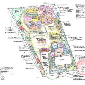 Landscape Design – Easthampton, MA – Pollinator-friendly Orchard